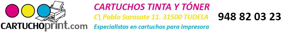 CARTUCHOprint - Cartuchos de tinta y tóner en Tudela